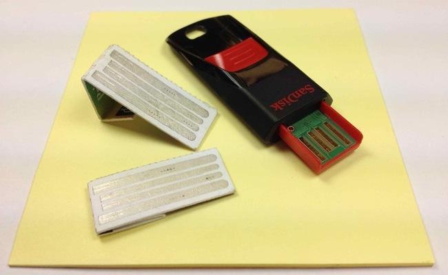 Memorias USB Originales de Papel
