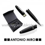 Bolígrafo Puntero USB Latrex 8GB Antonio Miro
