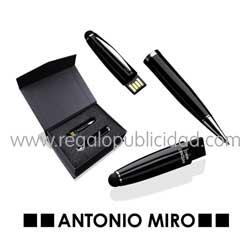 Bolígrafo Puntero USB Latrex 8GB Antonio Miro 1