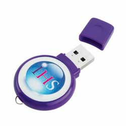 Memoria USB 20 circular 1